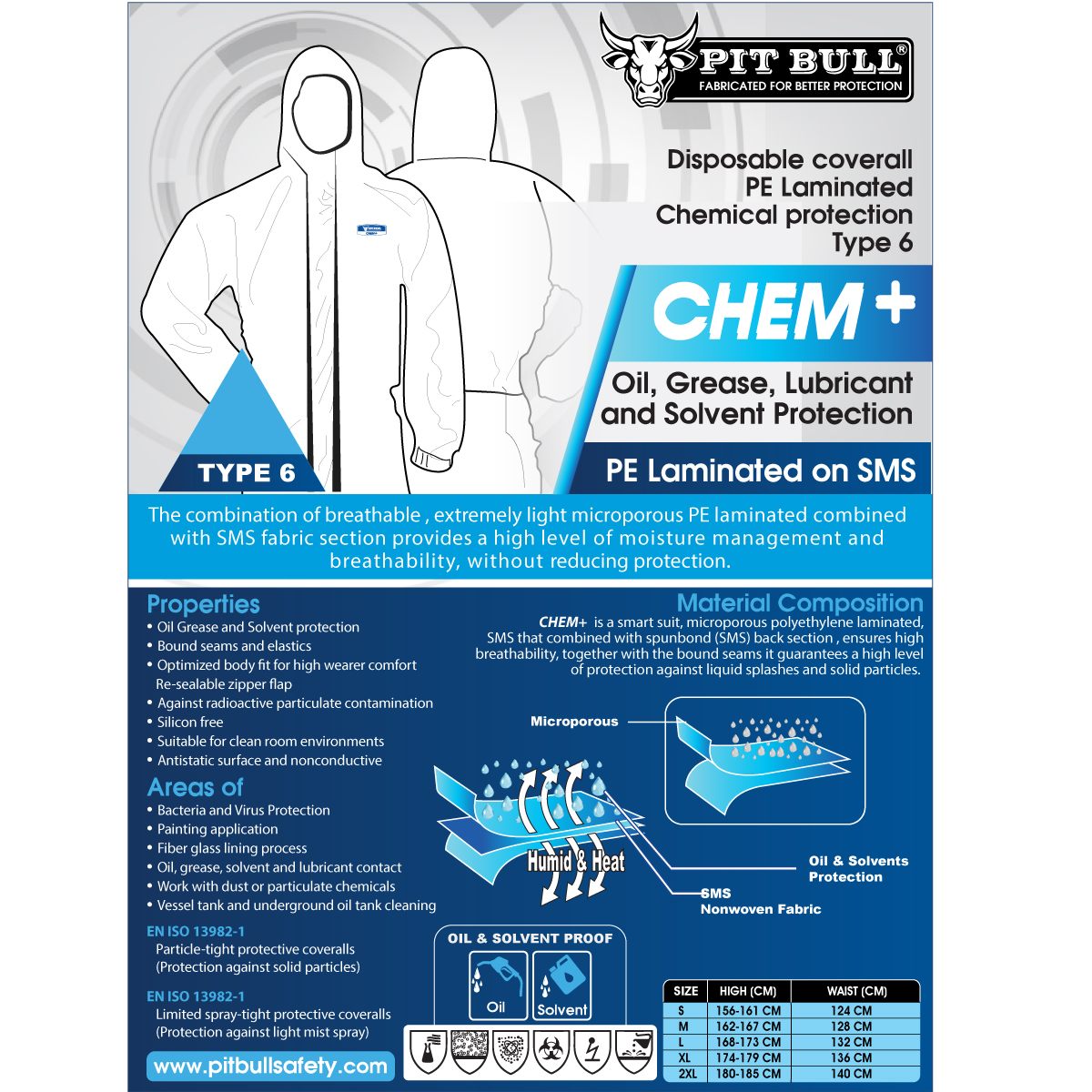 Chem+ Disposable Coverall