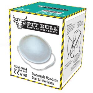 FDM-5004 N95 -FFP1 Particulate Respirator (Cup)