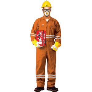 FIRE RETARDANT COVERALL - ORANGE