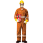 FIRE RETARDANT COVERALL - ORANGE