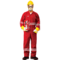 FIRE RETARDANT COVERALL - RED