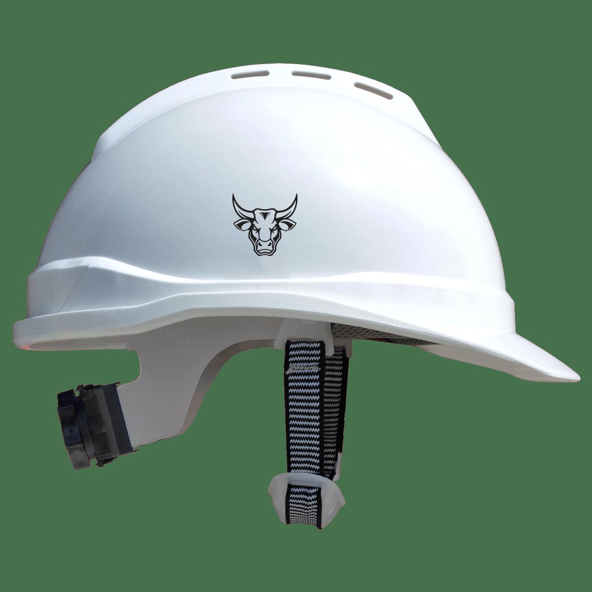 Pitbull Helmet White