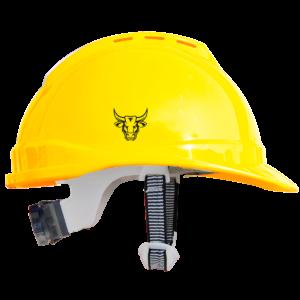 Pitbull Helmet Yellow